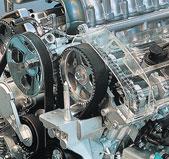 Авто ремни генератора поликлиновые с ГУР 5PK1010 Dongil 96144934 для Daewoo