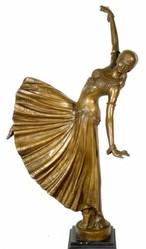 Эксклюзивная бронзовая статуэтка.