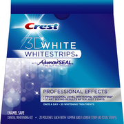 Отбеливающие полоски для зубов Crest 3D White Whitestrips Professional