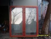 Продам окна застекленные с лудками б/у