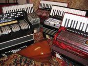 Аккордеоны, баяны и другие муз.инструменты
