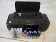 Продам б/у принтера Запорожье Canon+снпч и мфу HP