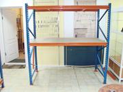 Складские стеллажи система SN до 1000 кг на полку