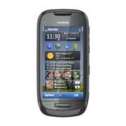 Nokia C7 (2Sim+JAVA+Wi-Fi+TV) сталь,  черн.