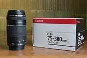 Продам объектив Canon EF 75-300 f/4-5.6 III USM - 1000 грн,  торг