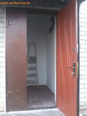 Металлические входные двери с установкой в Запорожье