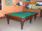 Бильярдный стол 10 ft б/у в хорошем состоянии с комплектущим.