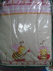 Полный комплект постельного белья в кроватку. Новое