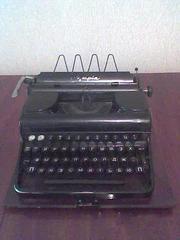 Продам печатную машинку Olympia