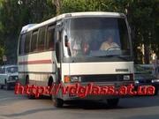 Автостекло триплекс,  лобовое стекло для автобусов Икарус Ikarus