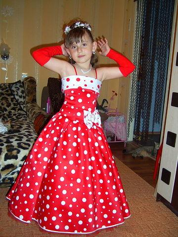 модное платье для дружки