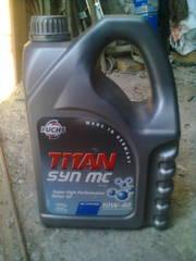 Моторное масло TITAN 10W40 4 л.
