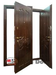 МДФ накладки, металлические входные двери от производителя