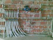 Замена отопления,  водопровода и канализации Запорожье