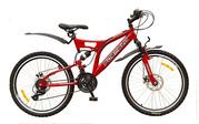 Formula Outlander новый подростковый горный двухподвесный велосипед