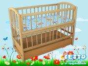 Кроватка детская LETTO «Малютка с ящиком плюс»