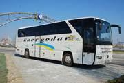Перевозки пассажиров автобусом Запорожье