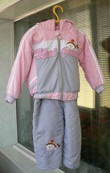 демисезонный костюм для девочки 1, 5 -2 года