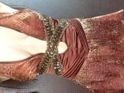 вечернее платье леопардового принта