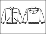Пошив зимняя спецодежда -  Куртка зимняя Титан  с капюшоном- 2 модели