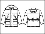 Пошив зимняя спецодежда -  Куртка зимняя Z007 с капюшоном