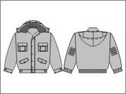 Пошив зимняя спецодежда -  Куртка зимняя Монтажник с капюшоном