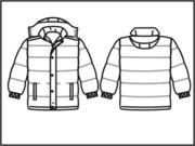 Пошив зимняя спецодежда -  Куртка зимняя Дутая с капюшоном
