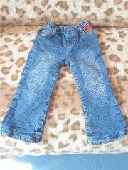 джинсы теплые на девочку 2-4 лет
