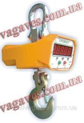 Продам весы электронные крановые на 1 тонну
