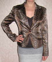 Пиджак женский леопардовый р.38 Турция