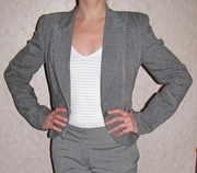 Пиджак женский р.38 серый