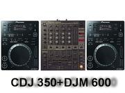 Продам свой комплект диджейского оборудования.   CDJ 350 (2 шт.) + DJM
