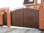 ворота, калитки, авто-навесы, металлические двери, металлоконструкции