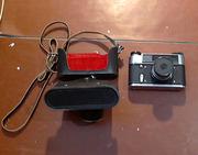 Продам фотоаппарат ФЭД-5+вспышка СЭФ-3М (+2банки)