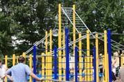 Спортивные площадки для Street Workout.