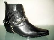 Ботинки казаки Etor зимние мужские.Натуральная цигейка.Стиль и качеств