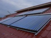 Установка гелиосистем,  солнечный коллектор,  теплоаккумулятор