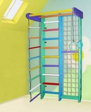 Спортивная стенка «Чиполлино» для дома и для детей