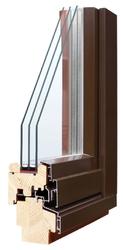 Деревянные окна от компании «Харвест Индустриалес»