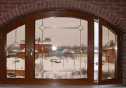 Ламинированные окна от Харвест Индустриалес