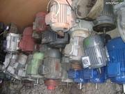 Куплю электродвигатели,  редуктора,  мотор-редуктора,  насосы разные новы