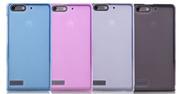 TPU матовый силикон чехол Huawei Ascend G6,  G6-U10