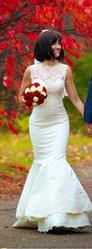 дизайнерское свадебное платье коллекции осень 2014