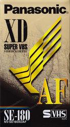 Видеокассеты S-VHS NV-SE180XDAF (3 часа) Новые,  запечатанные
