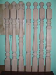 Столбы опорные для изготовления Лестниц