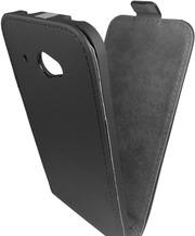 Чехол черный книжка флип HTC Desire 601