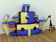 Стенка детская Кораблик