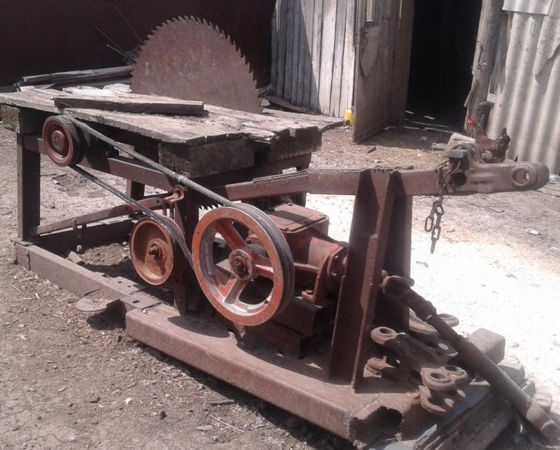 Пилорама своими руками дисковая для трактора 188