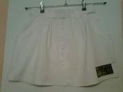 юбка белая для большого тенниса ADIDAS