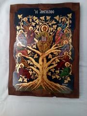Икона 12 апостолов сертификат